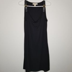 Michael Kors Cowl Neck Buckle Strap dress size L